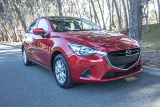 2016 Mazda 2 DJ2HAA Maxx SKYACTIV-Drive Red/Black 6 Speed Sports Automatic Hatchback.