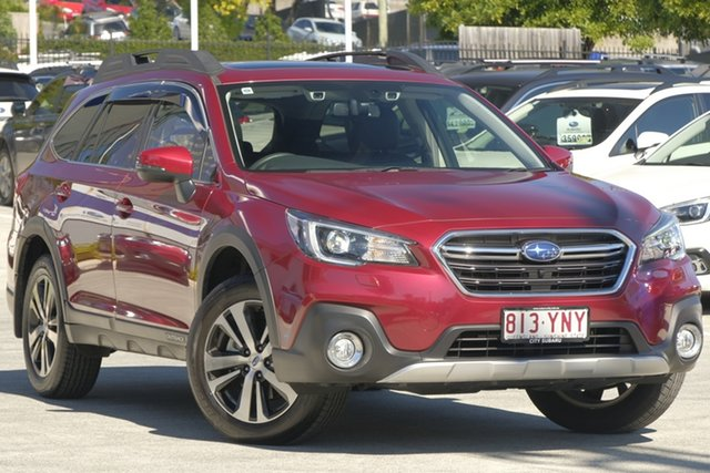 Demo Subaru Outback B6A MY18 2.5i CVT AWD Premium, 2018 Subaru Outback B6A MY18 2.5i CVT AWD Premium Crimson Red 7 Speed Constant Variable Wagon