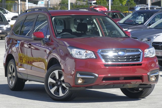 Used Subaru Forester S4 MY18 2.5i-L CVT AWD, 2018 Subaru Forester S4 MY18 2.5i-L CVT AWD Red/Black 6 Speed Constant Variable Wagon
