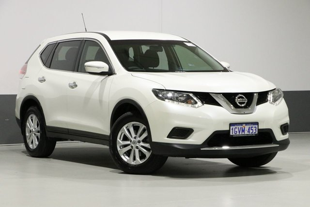Used Nissan X-Trail T32 ST (FWD), 2016 Nissan X-Trail T32 ST (FWD) Pearl White Continuous Variable Wagon