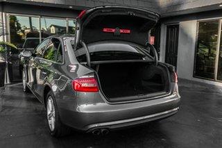 2012 Audi A4 B8 8K MY13 Multitronic Grey 8 Speed Constant Variable Sedan