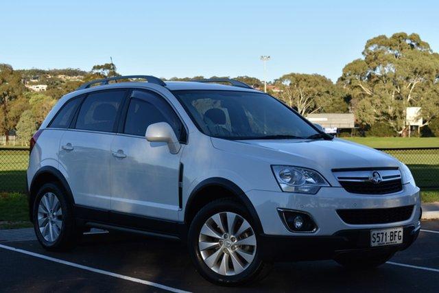 Used Holden Captiva CG MY15 5 LT, 2015 Holden Captiva CG MY15 5 LT White 6 Speed Sports Automatic Wagon