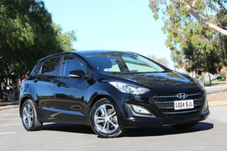 2015 Hyundai i30 GD3 Series II MY16 Active X Black 6 Speed Sports Automatic Hatchback.