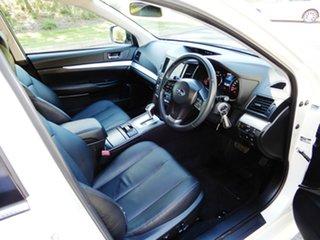 2013 Subaru Liberty B5 MY14 2.5i Lineartronic AWD White 6 Speed Constant Variable Sedan
