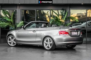 2011 BMW 123d E88 MY11 Steptronic Grey 6 Speed Sports Automatic Convertible