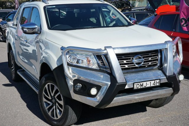 Used Nissan Navara D23 S2 ST-X, 2017 Nissan Navara D23 S2 ST-X White Diamond 7 Speed Sports Automatic Utility