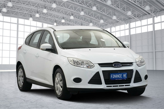 Used Ford Focus LW MkII Ambiente PwrShift, 2013 Ford Focus LW MkII Ambiente PwrShift Frozen White 6 Speed Sports Automatic Dual Clutch