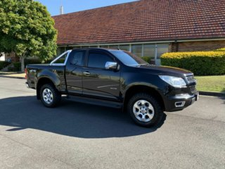 2012 Holden Colorado RG LTZ Black 5 Speed Manual Spacecab.