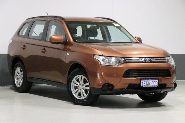 Used Mitsubishi Outlander ZJ ES (4x4), 2013 Mitsubishi Outlander ZJ ES (4x4) Bronze Continuous Variable Wagon