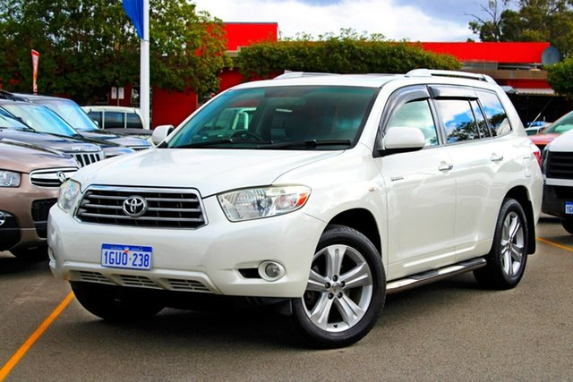 Used Toyota Kluger GSU45R Grande AWD, 2009 Toyota Kluger GSU45R Grande AWD White 5 Speed Sports Automatic Wagon