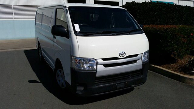 Used Toyota HiAce KDH201R MY14 LWB, 2014 Toyota HiAce KDH201R MY14 LWB White 5 Speed Manual Van