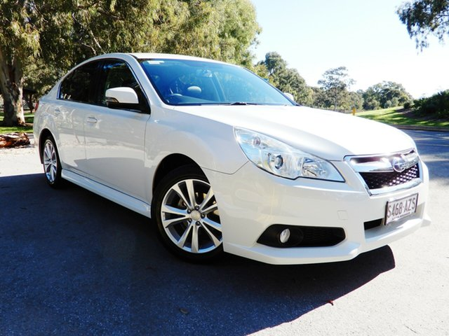 Used Subaru Liberty B5 MY14 2.5i Lineartronic AWD, 2013 Subaru Liberty B5 MY14 2.5i Lineartronic AWD White 6 Speed Constant Variable Sedan