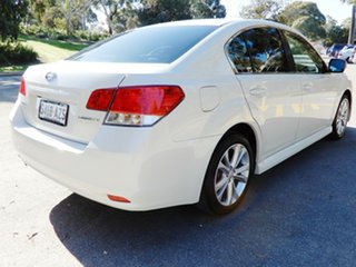 2013 Subaru Liberty B5 MY14 2.5i Lineartronic AWD White 6 Speed Constant Variable Sedan.