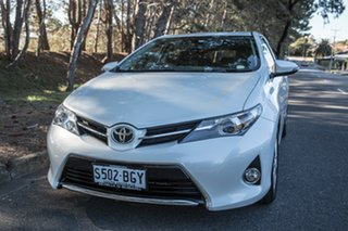 2015 Toyota Corolla ZRE182R Ascent Sport S-CVT Crystal Pearl 7 Speed Constant Variable Hatchback