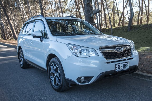 Used Subaru Forester S4 MY14 2.5i-S Lineartronic AWD, 2014 Subaru Forester S4 MY14 2.5i-S Lineartronic AWD White 6 Speed Constant Variable Wagon