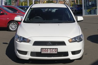 2011 Mitsubishi Lancer CJ MY12 ES White 6 Speed Constant Variable Sedan