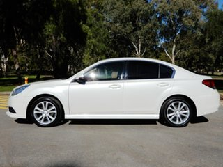 2013 Subaru Liberty B5 MY14 2.5i Lineartronic AWD White 6 Speed Constant Variable Sedan