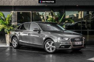 2012 Audi A4 B8 8K MY13 Multitronic Grey 8 Speed Constant Variable Sedan.