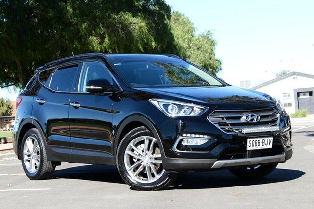 Used Hyundai Santa Fe DM3 MY16 Highlander, 2015 Hyundai Santa Fe DM3 MY16 Highlander Black 6 Speed Sports Automatic Wagon
