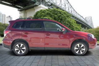 2018 Subaru Forester S4 MY18 2.5i-L CVT AWD Red/Black 6 Speed Constant Variable Wagon.