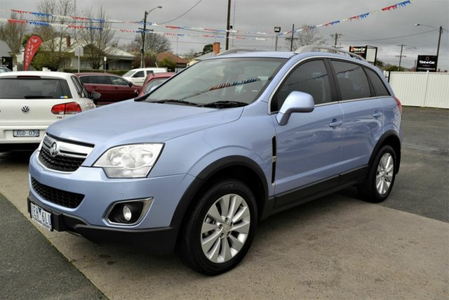Used Holden Captiva CG MY15 5 LT (FWD), 2015 Holden Captiva CG MY15 5 LT (FWD) Blue 6 Speed Automatic Wagon