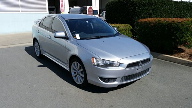 Used Mitsubishi Lancer CJ MY09 VR, 2009 Mitsubishi Lancer CJ MY09 VR Silver 6 Speed Constant Variable Sedan