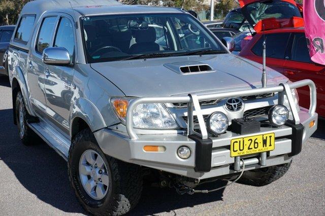 Used Toyota Hilux KUN26R MY07 SR5, 2007 Toyota Hilux KUN26R MY07 SR5 White 4 Speed Automatic Utility