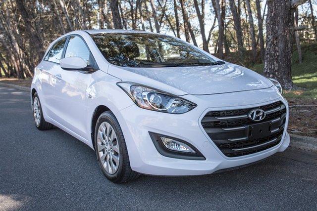 Used Hyundai i30 GD3 Series II MY16 Active, 2015 Hyundai i30 GD3 Series II MY16 Active White 6 Speed Sports Automatic Hatchback