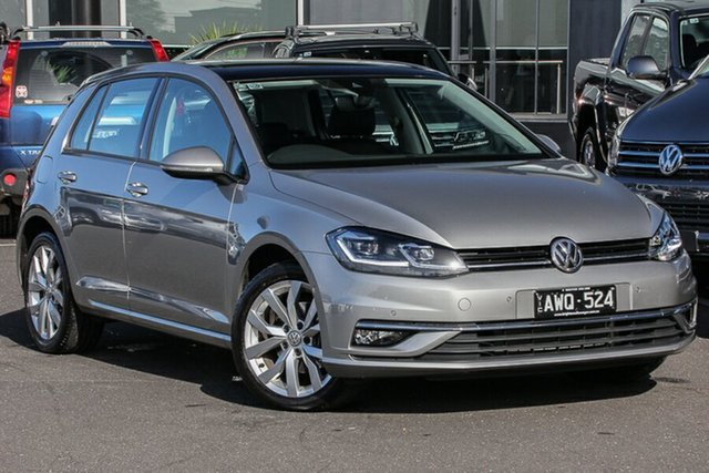 Used Volkswagen Golf 7.5 MY18 110TSI DSG Highline, 2018 Volkswagen Golf 7.5 MY18 110TSI DSG Highline Tungsten 7 Speed Sports Automatic Dual Clutch