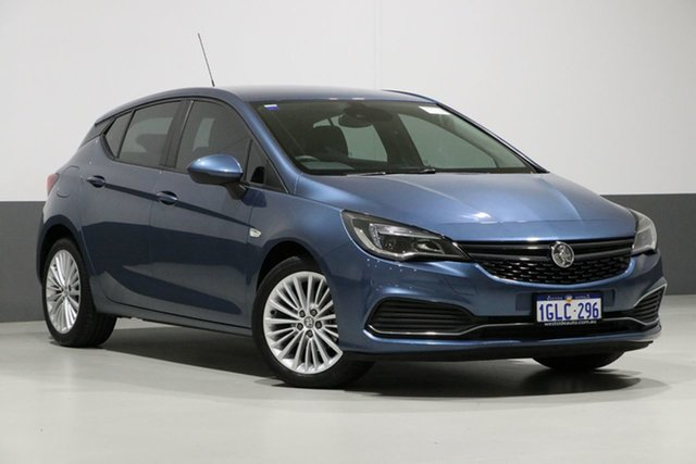 Used Holden Astra BK MY17.5 R+, 2017 Holden Astra BK MY17.5 R+ Blue 6 Speed Automatic Hatchback