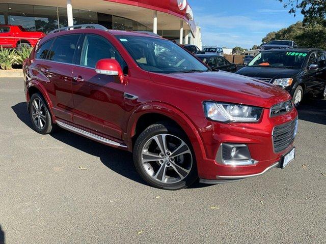 Used Holden Captiva CG MY18 LTZ AWD, 2018 Holden Captiva CG MY18 LTZ AWD Red 6 Speed Sports Automatic Wagon