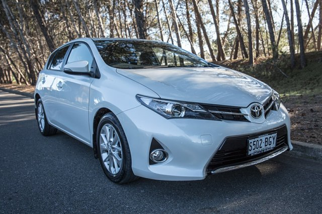 Used Toyota Corolla ZRE182R Ascent Sport S-CVT, 2015 Toyota Corolla ZRE182R Ascent Sport S-CVT Crystal Pearl 7 Speed Constant Variable Hatchback