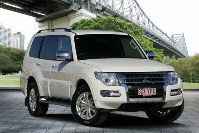 Used Mitsubishi Pajero NX MY18 GLX, 2018 Mitsubishi Pajero NX MY18 GLX White 5 Speed Sports Automatic Wagon