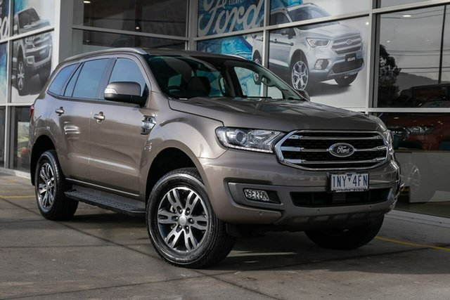 Demo Ford Everest UA II 2019.00MY Trend 4WD, 2018 Ford Everest UA II 2019.00MY Trend 4WD Silver 6 Speed Sports Automatic Wagon