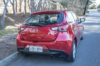 2016 Mazda 2 DJ2HAA Maxx SKYACTIV-Drive Red/Black 6 Speed Sports Automatic Hatchback