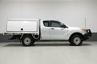 2012 Mazda BT-50 XT (4x4) Silver 6 Speed Manual Freestyle Cab Chassis