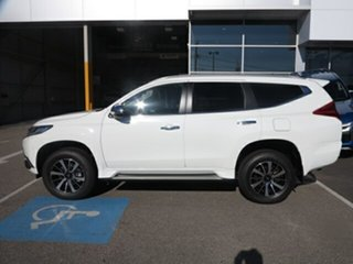 2018 Mitsubishi Pajero Sport MY18 Exceed (4x4) 7 Seat White 8 Speed Automatic Wagon