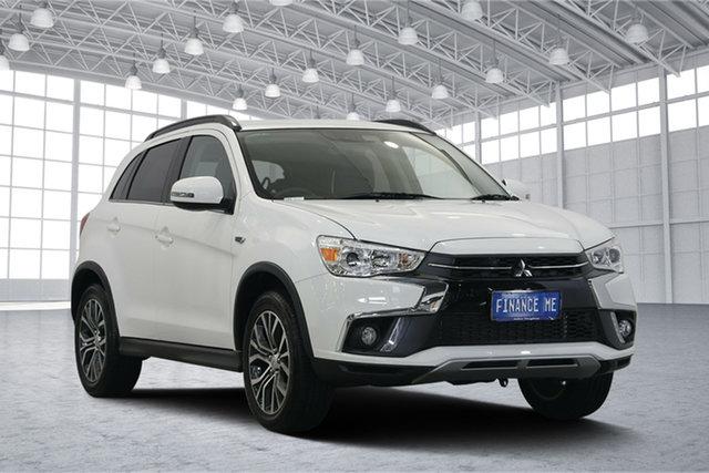 Used Mitsubishi ASX XC MY18 LS 2WD, 2018 Mitsubishi ASX XC MY18 LS 2WD White 6 Speed Constant Variable Wagon