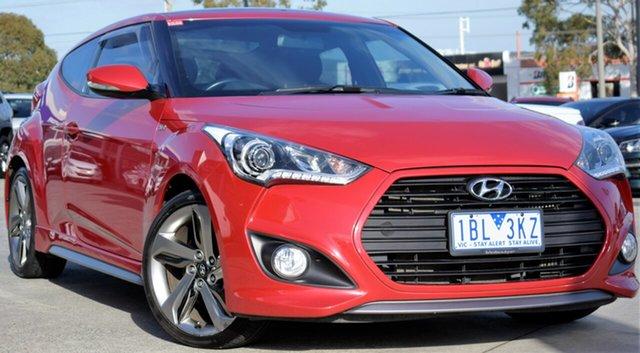 Used Hyundai Veloster FS3 SR Coupe Turbo, 2014 Hyundai Veloster FS3 SR Coupe Turbo Veloster Red 6 Speed Sports Automatic Hatchback