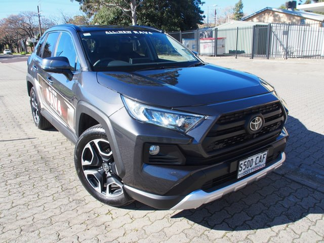 Demo Toyota RAV4 Axaa54R Edge AWD, 2019 Toyota RAV4 Axaa54R Edge AWD Graphite 8 Speed Sports Automatic Wagon
