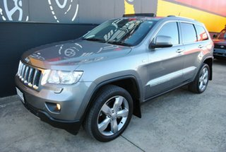 2012 Jeep Grand Cherokee WK MY2012 Overland Mineral Grey 5 Speed Sports Automatic Wagon