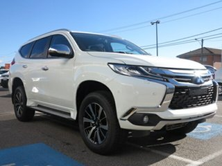 2018 Mitsubishi Pajero Sport MY18 Exceed (4x4) 7 Seat White 8 Speed Automatic Wagon.