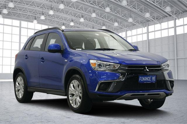 Used Mitsubishi ASX XC MY19 ES 2WD, 2018 Mitsubishi ASX XC MY19 ES 2WD Lightning Blue 6 Speed Constant Variable Wagon