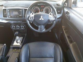 2012 Mitsubishi Lancer CJ MY12 VR-X Silver 6 Speed Constant Variable Sedan