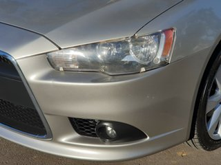 2012 Mitsubishi Lancer CJ MY12 VR-X Silver 6 Speed Constant Variable Sedan.