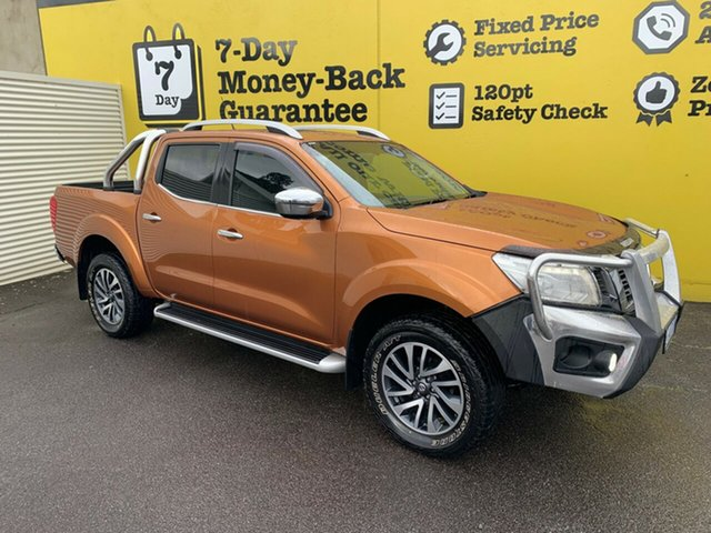 Used Nissan Navara D23 ST-X, 2015 Nissan Navara D23 ST-X Hornet Gold 6 Speed Manual Utility