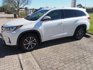 2019 Toyota Kluger GSU55R GXL AWD Crystal Pearl 8 Speed Sports Automatic Wagon
