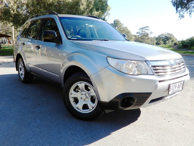 Used Subaru Forester S3 MY09 X AWD, 2009 Subaru Forester S3 MY09 X AWD Steel Silver 4 Speed Sports Automatic Wagon