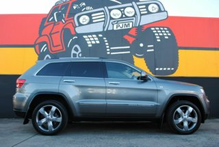 2012 Jeep Grand Cherokee WK MY2012 Overland Mineral Grey 5 Speed Sports Automatic Wagon.
