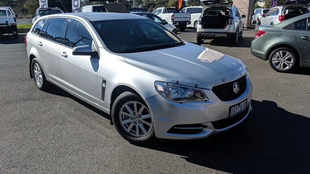 Used Holden Commodore VF II MY16 Evoke Sportwagon, 2016 Holden Commodore VF II MY16 Evoke Sportwagon Silver 6 Speed Sports Automatic Wagon